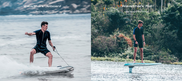 Experience the ultimate sensation of water sports with WaveShark