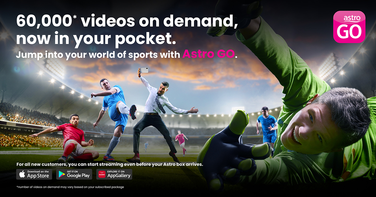 60,000 Videos On Demand In Your Pocket With Astro Go