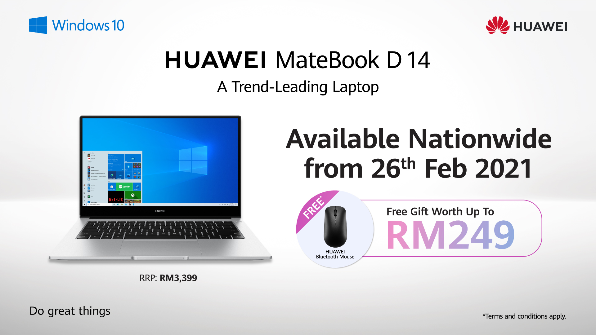 HUAWEI Unveils Its New and Improved HUAWEI MateBook D 14 2020 Intel Edition