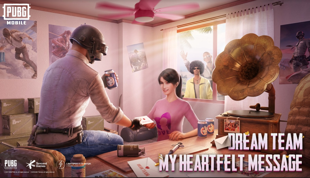Find Love, Friendship and More Through Dream Team Campaign in PUBG Mobile
