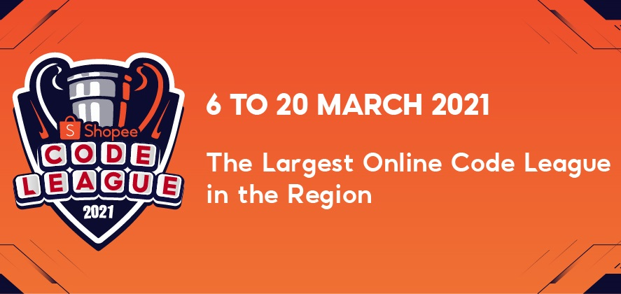 Region's Best Tech Talents to Battle it Out in Shopee Code League 2021