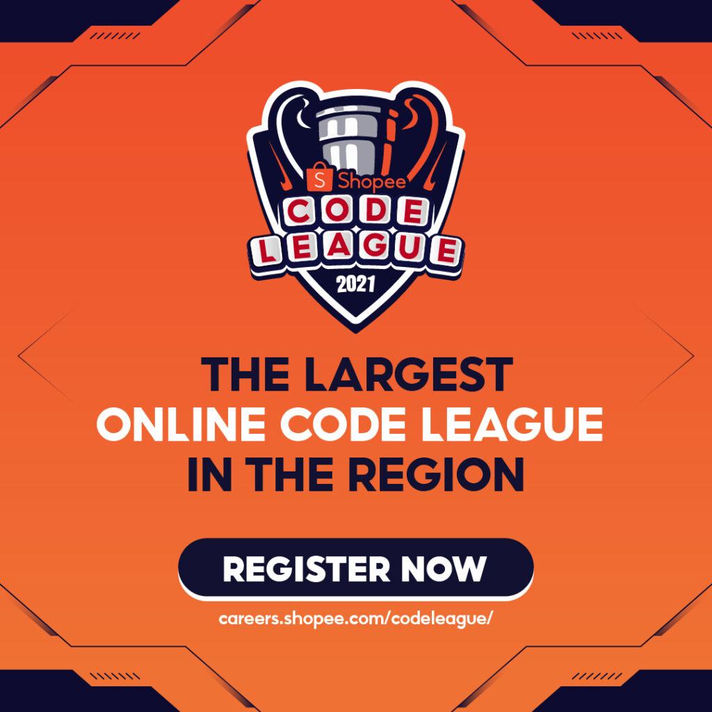 Region's Best Tech Talents to Battle it Out in Shopee Code League 2021