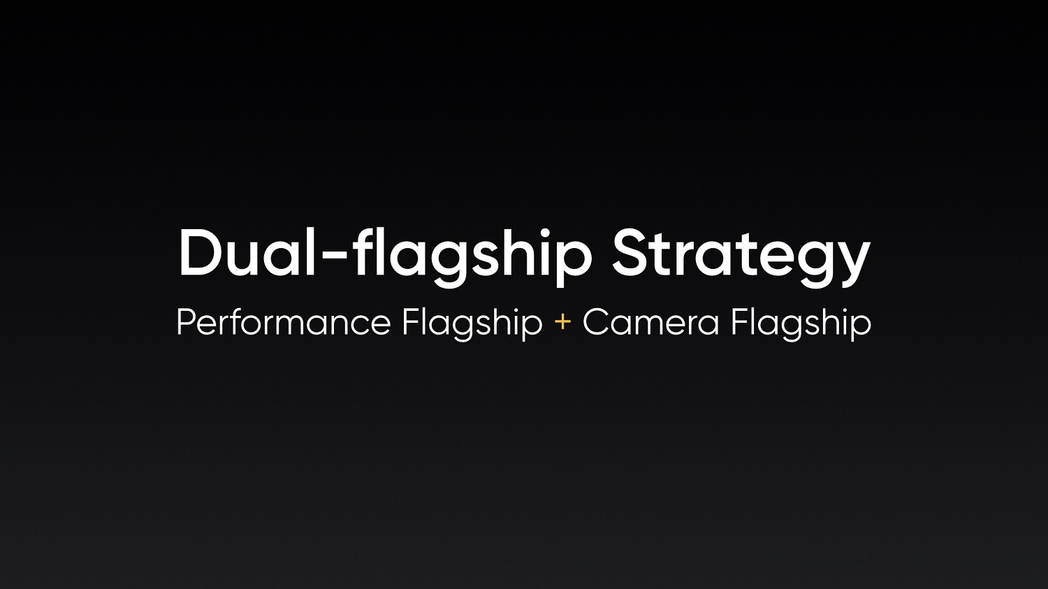 "realme Announces ""Dual-Platform Dual-Flagship"" Strategy at MWC Shanghai"