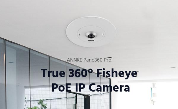 ANNKE Pano360 Pro Fisheye PoE IP Security Camera