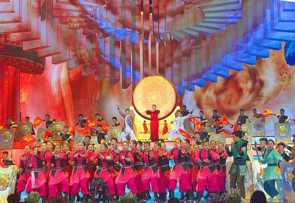 A program featuring Chinese martial arts is in rehearsal for the 2020 Spring Festival Gala, January 21, 2020. /CFP