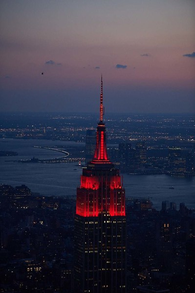 Empire State Building To Celebrate Lunar New Year With Virtual Lighting Ceremony And Fifth Avenue Window Displays
