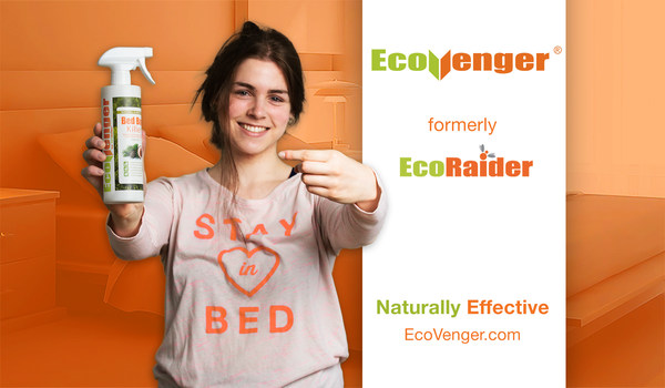 Naturally effective. EcoRaider is now EcoVenger.