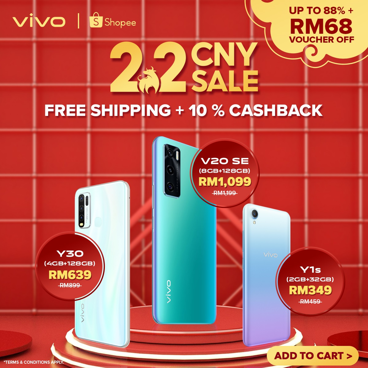 Shopee 2.2 Chinese New Year Sale