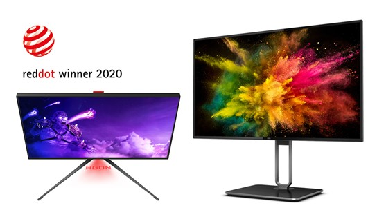 AOC Named as No.1 in Gaming Monitors Worldwide in 2020