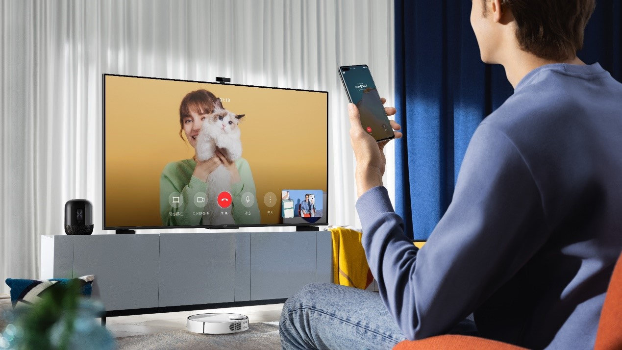 Bond with Your Loved Ones with HUAWEI Vision S Series, 1080p MeeTime Video Call