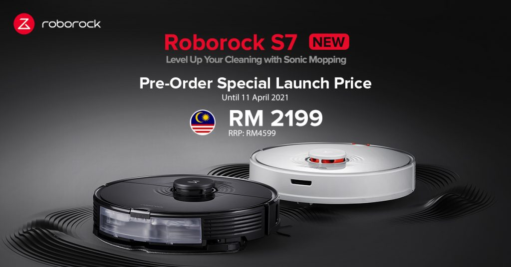 Roborock S7 Reinvents the Future of Clean with Debut of Category-Defining Mopping System