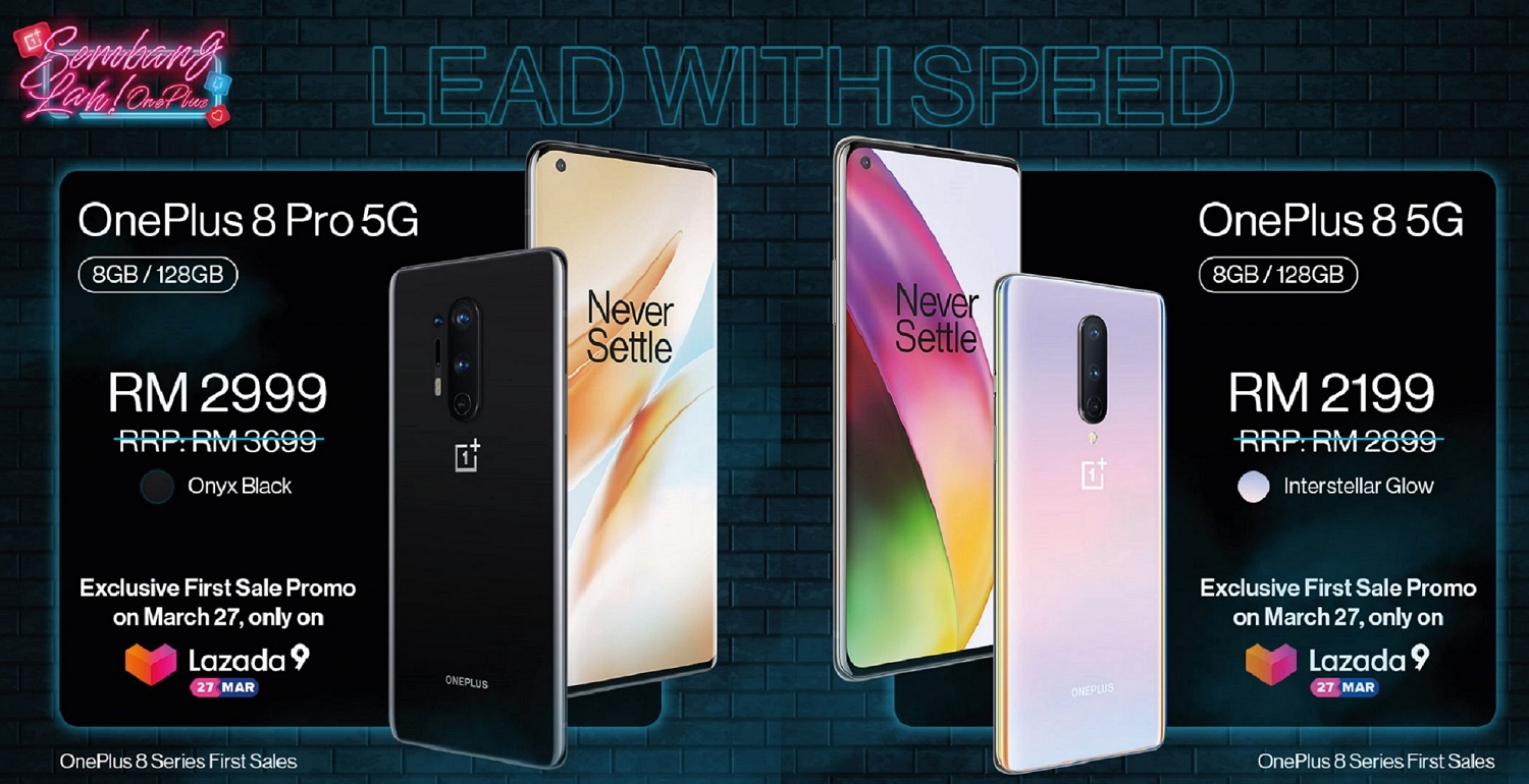 No More Waiting, OnePlus 8 and OnePlus 8 Pro Has Arrived