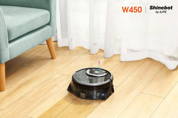 ILIFE Shinebot W450 Floor Washing Robot