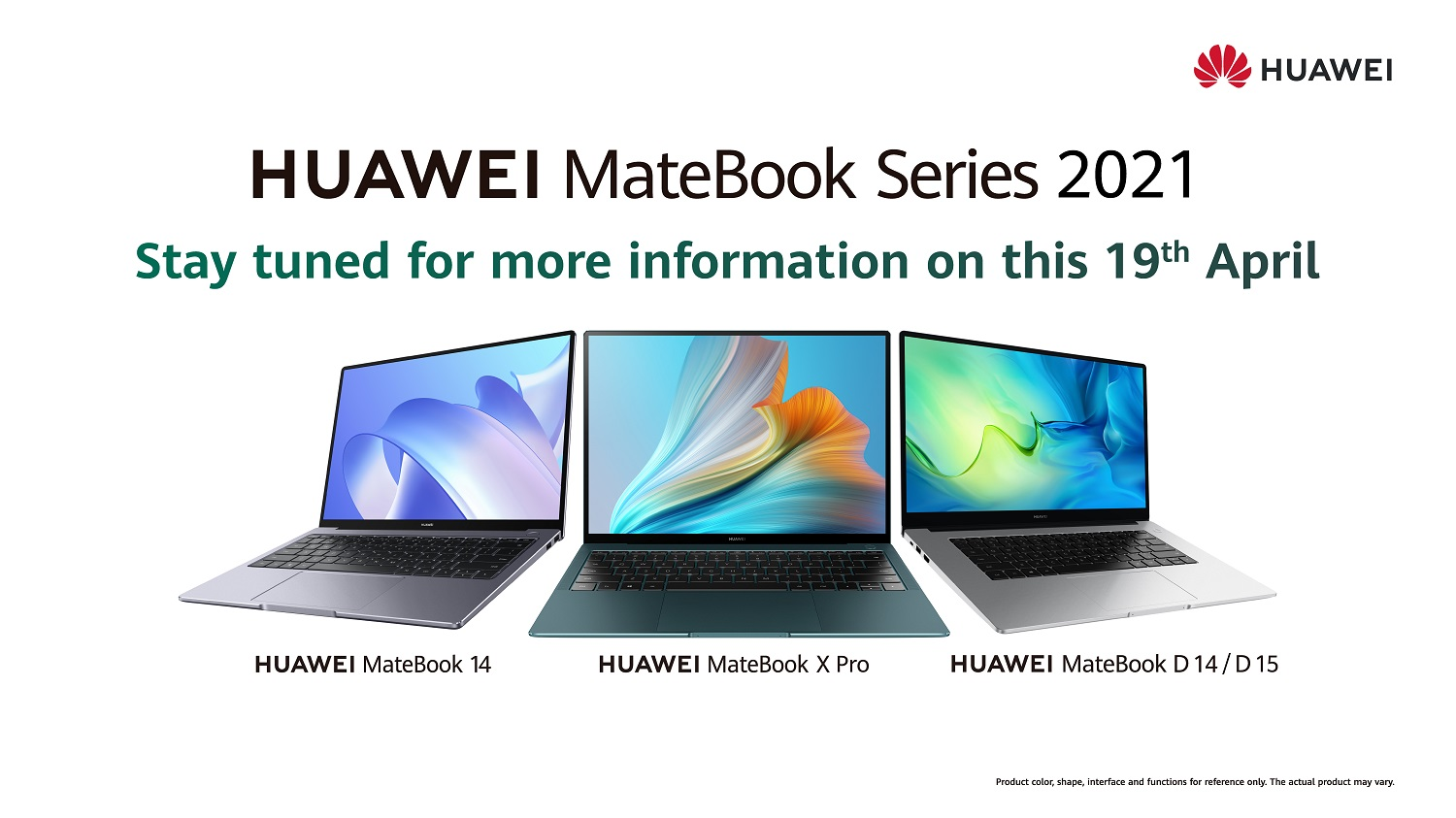Be One Step Faster With the Arrival of the HUAWEI MateBook 2021 Series in Malaysia