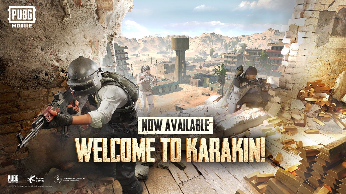 Welcome to Karakin - New Map Drops in PUBG Mobile 1.3 Update