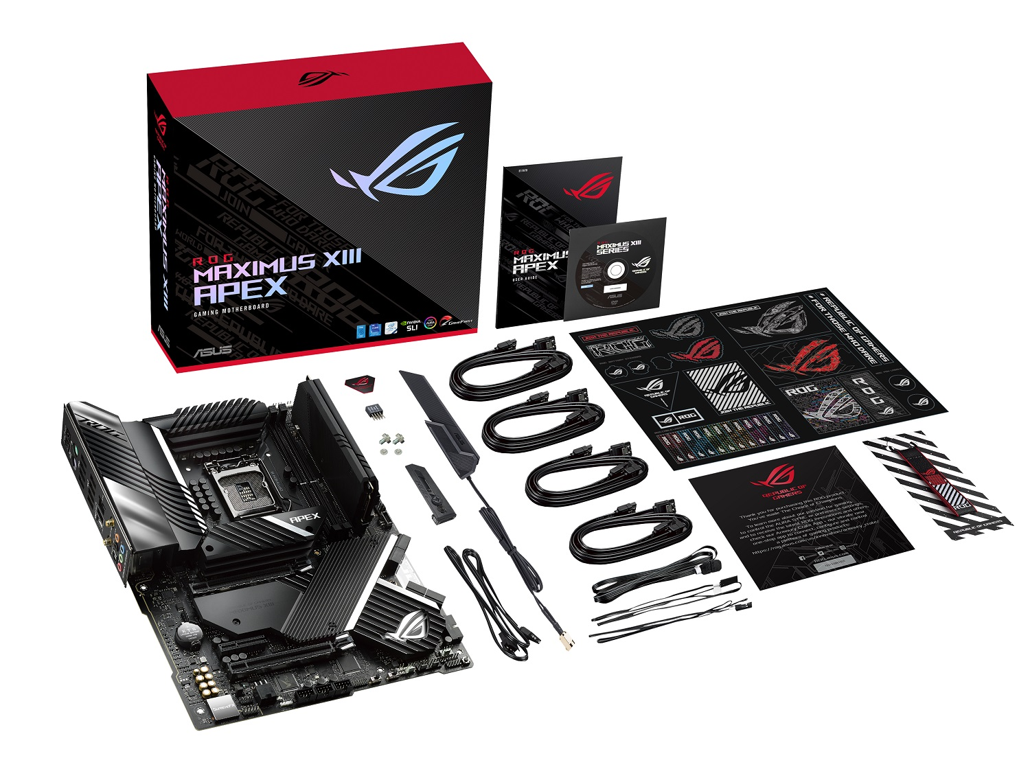 ASUS Overclockers Smash Long Standing Records with ROG Maximus XIII Apex