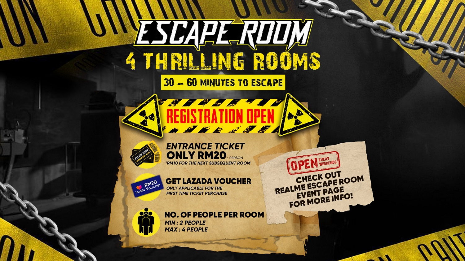 realme Escape Room is Back With More Big Rewards