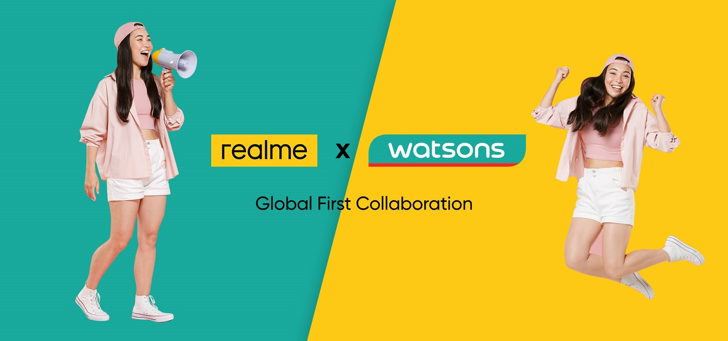 realme Collaborates With Watsons Malaysia, Among Global Countries