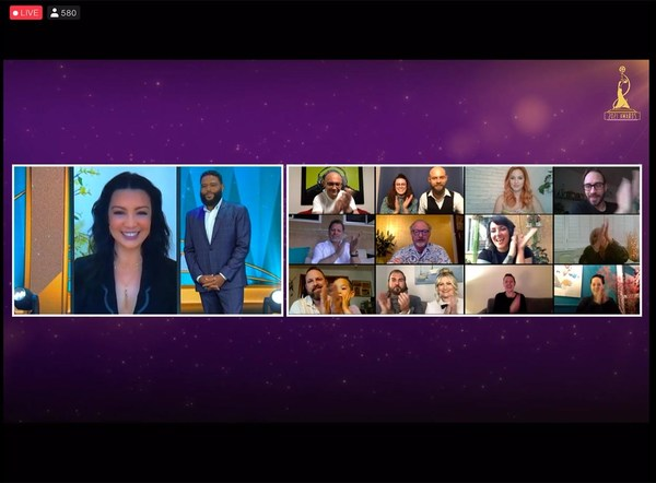 Cloud-based TVU Partyline manages more than 300 remote participants for live webcast honoring Hollywood's outstanding make-up artists and hair stylists