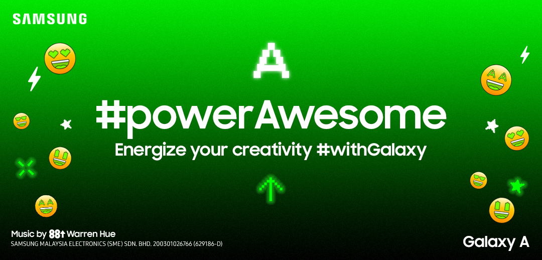 The Galaxy A #powerAwesome Challenge - Energize Your Creativity!