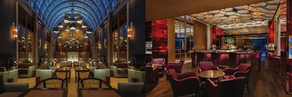 The new Republic Bar and Lounge at The Ritz-Carlton, Millenia Singapore