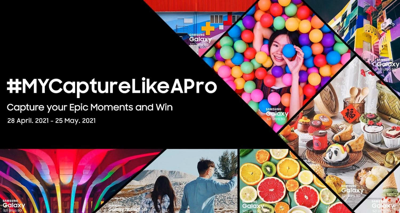 Showcase Your Epic Moments with Samsung Smartphone in #MYCaptureLikeAPro Bonus Week