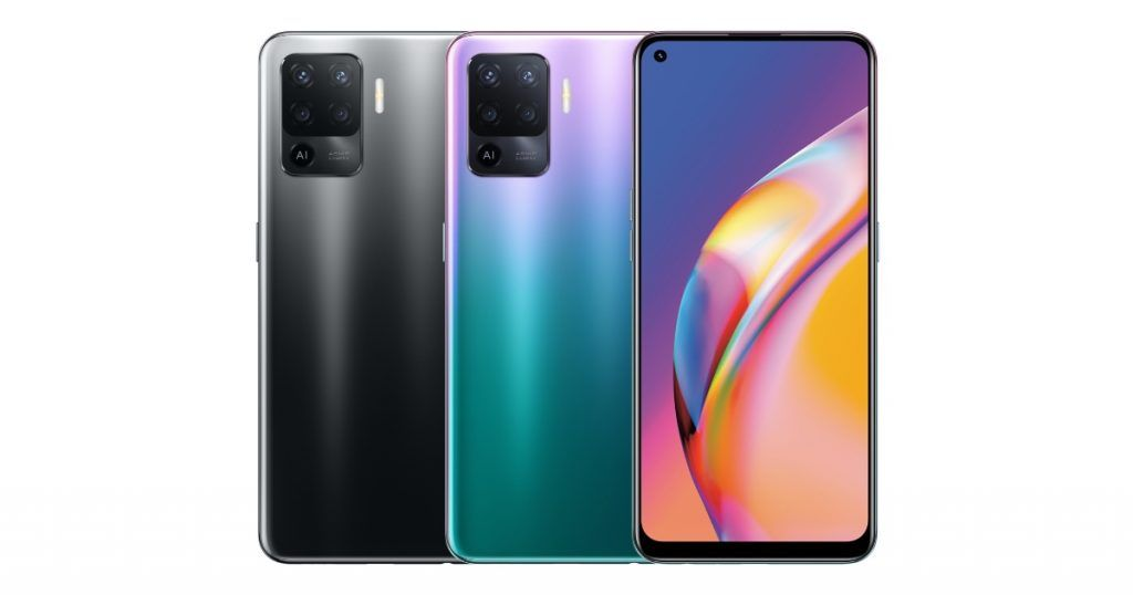 New Crystal Silver Color Coming to OPPO Reno5 F Next Week