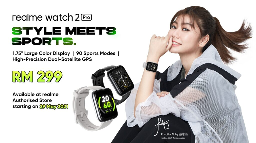 Global First Launch realme Watch 2 Pro With High-Precision Dual-Satellite GPS