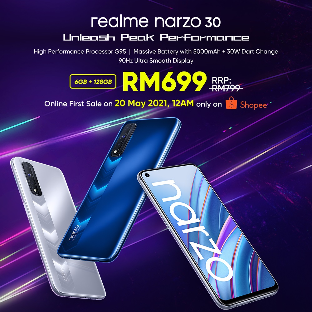 Unleash Your Gaming Sense With Narzo 30