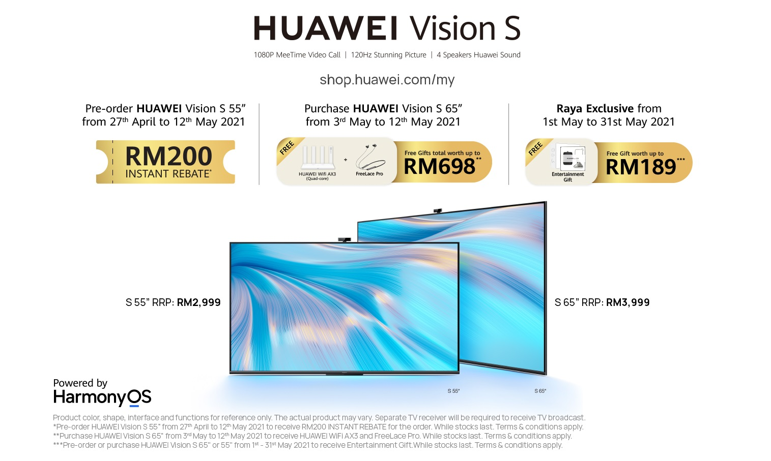 Entice Yourself with the Possibilities of HUAWEI MeeTime with HUAWEI Vision S