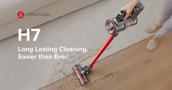 Roborock H7 - Long-Lasting Cleaning. Easier than Ever