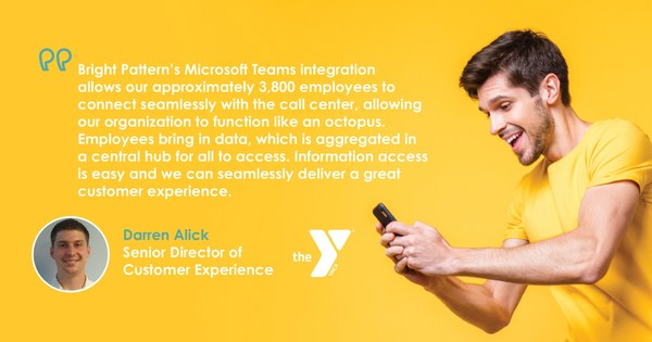 The YMCA of the North Chooses Bright Pattern Contact Center Software for Tight Integration with ServiceNow, Microsoft Dynamics, and Microsoft Teams