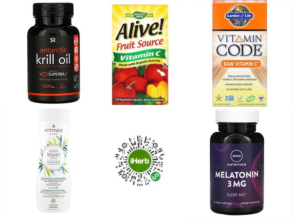 iHerb provides discounts on a rich line-up of products as part of the promotional event