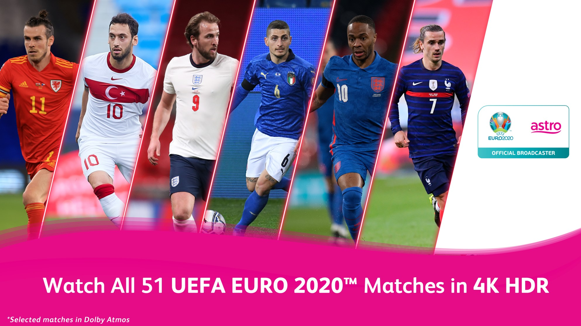 Astro Introduces First 4K HDR Broadcast of UEFA EURO 2020 and Olympic Games Tokyo 2020