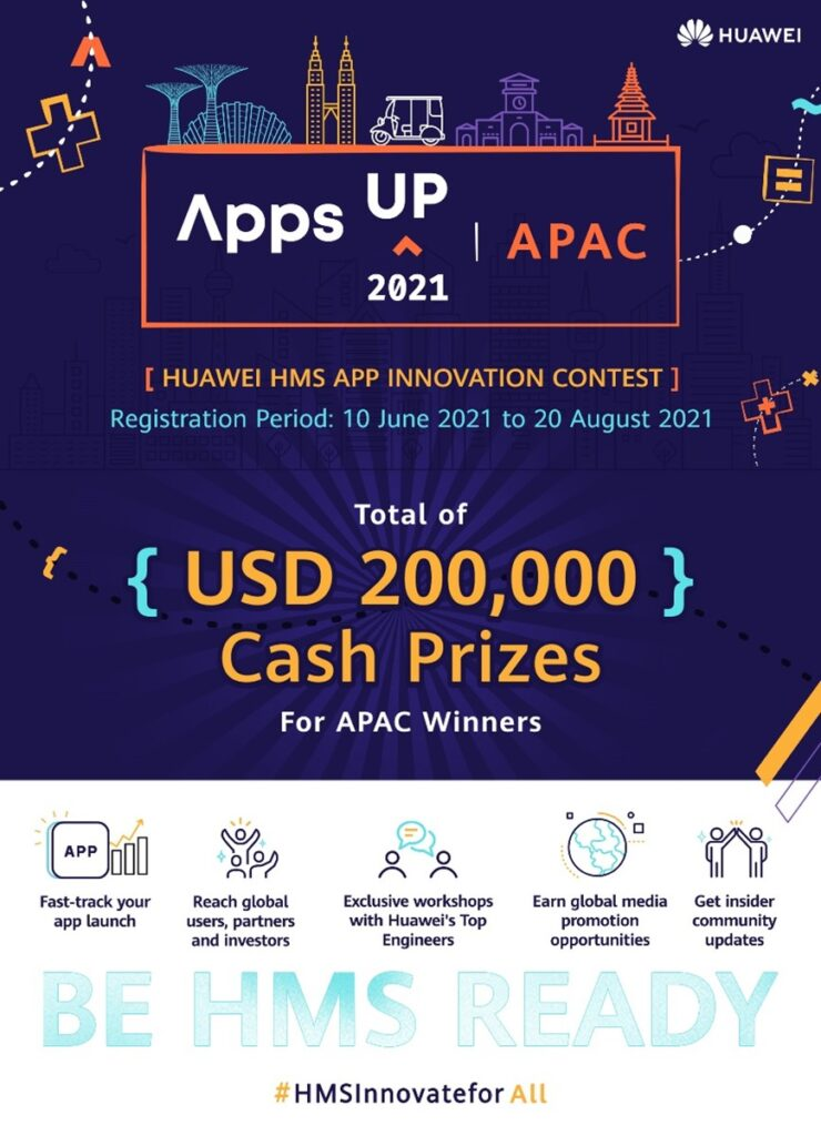 Huawei Mobile Services Launches AppsUP 2021 App Contest