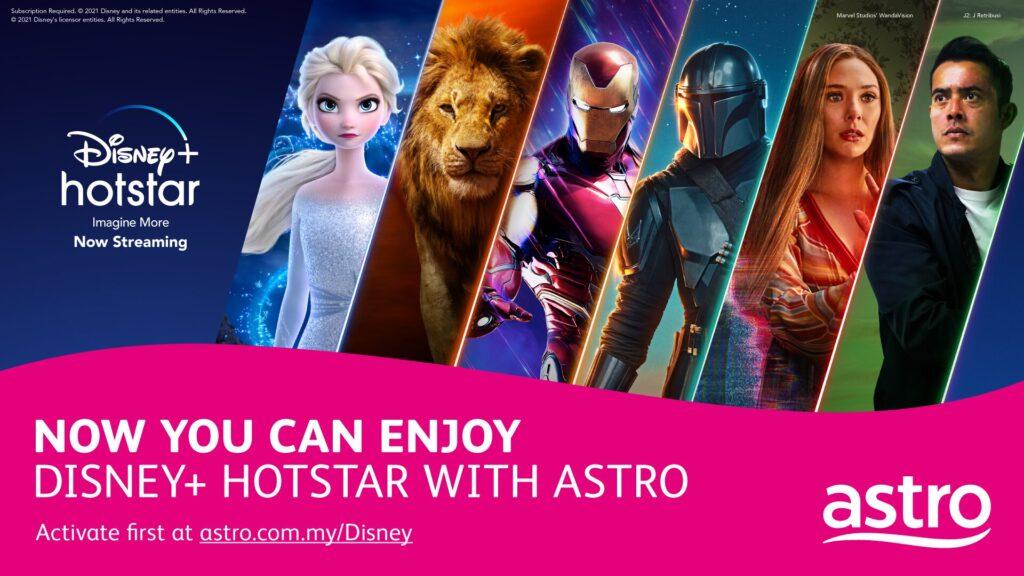 Astro Disney Hotstar