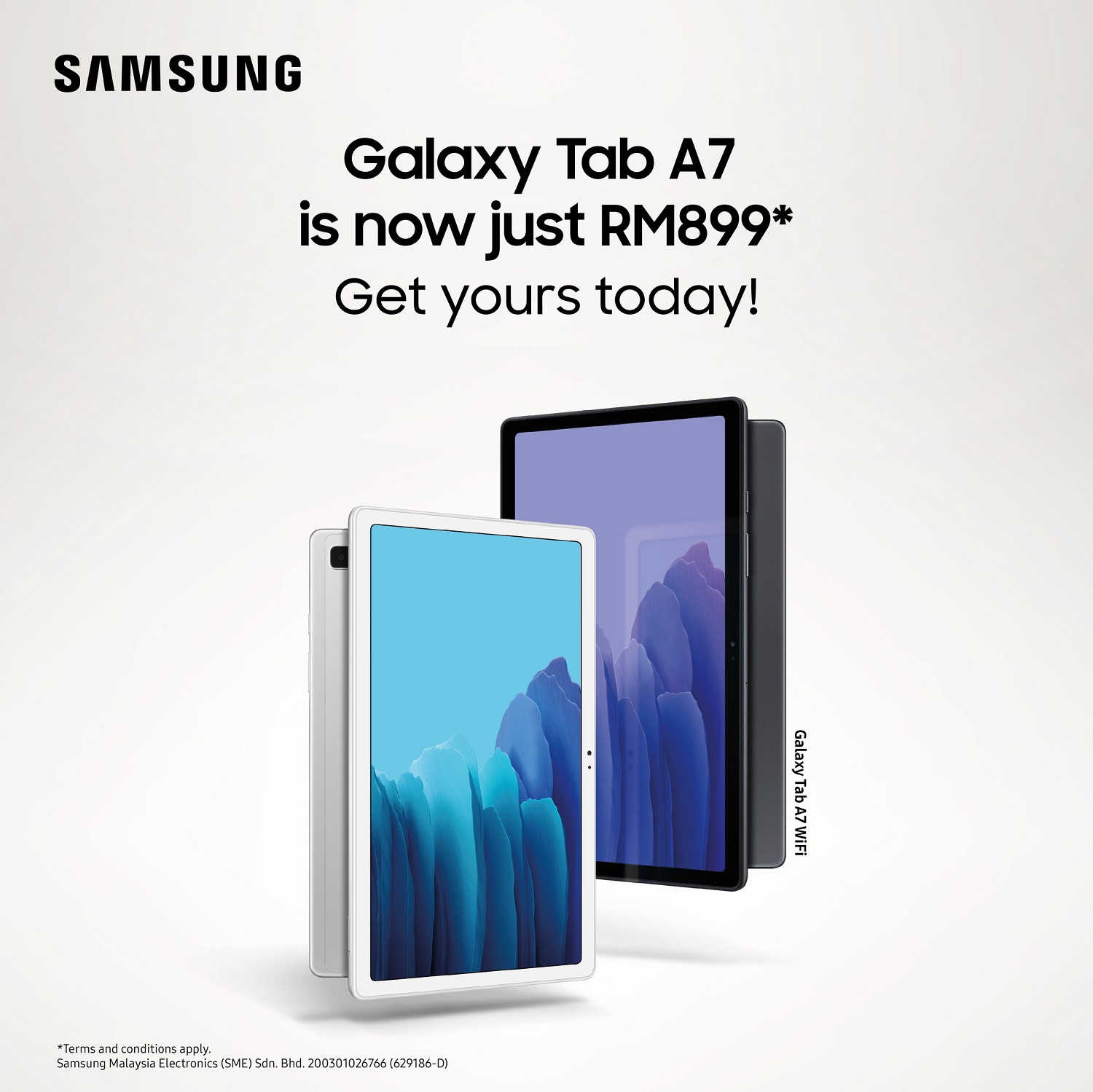 Samsung Galaxy Tab A7 is Now Cheaper at Only RM899