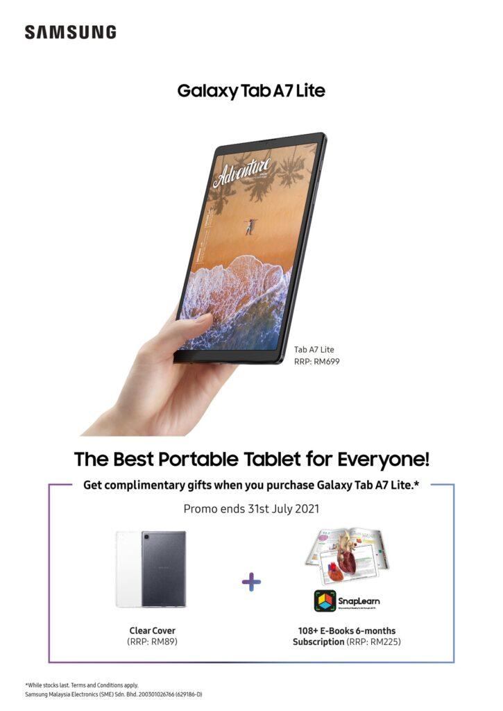 Galaxy Tab A7 Lite - Newest Member of the Samsung Galaxy Tab Portfolio