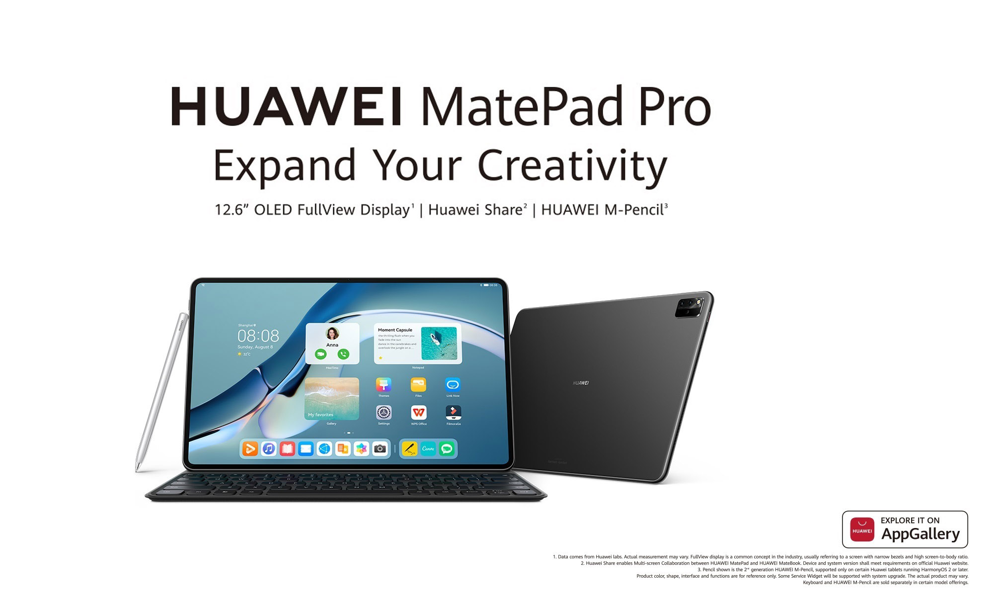 Boost Your Productivity With New HUAWEI MatePad Pro, Available Now for RM3,999
