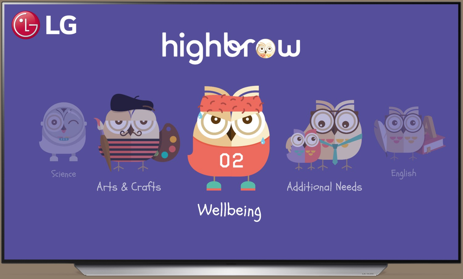 There's a New Expertly-Curated Educational TV Content For Young Learners by LG and Highbrow
