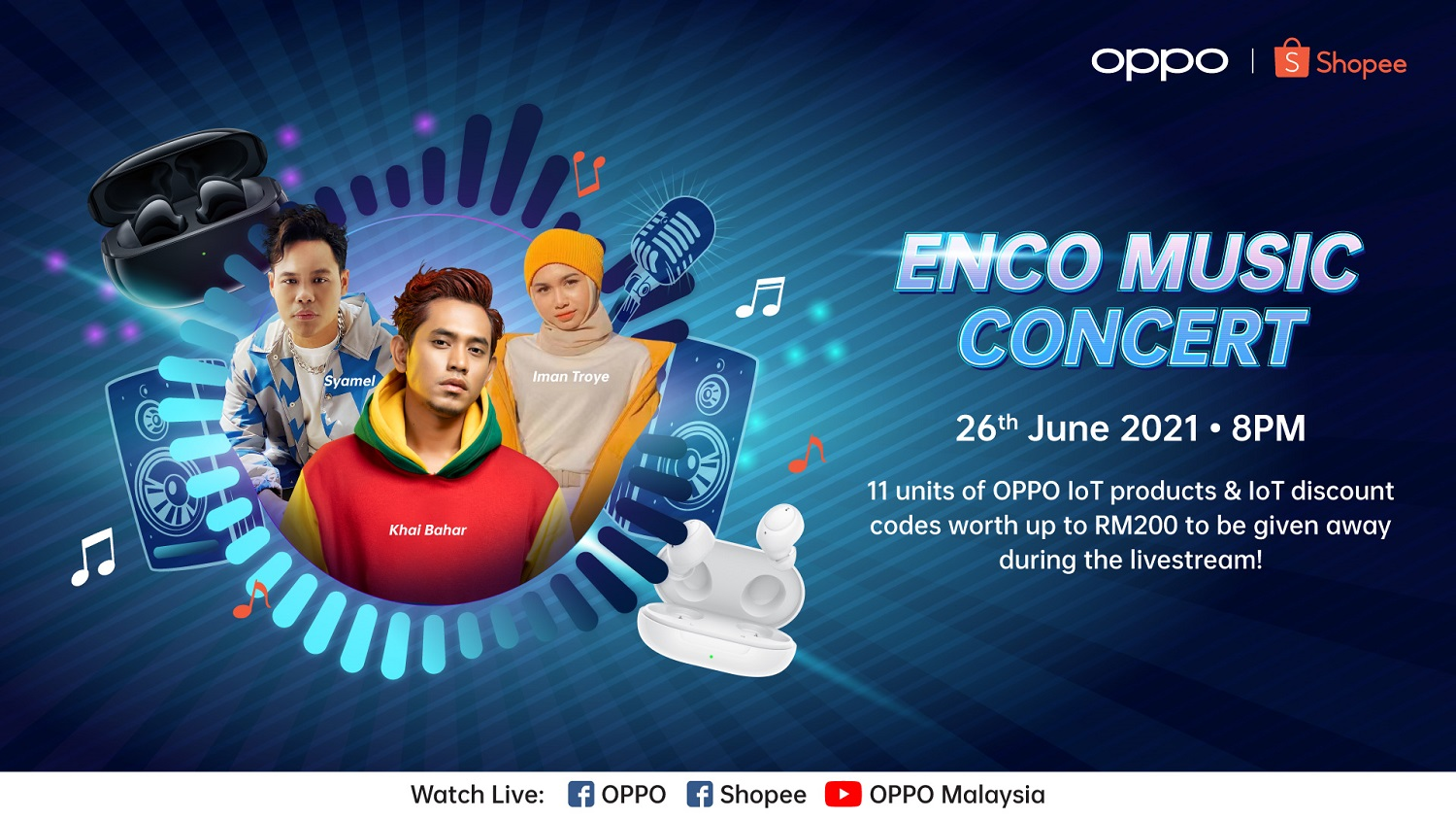 Revitalize Your Weekend with the Enco Music Concert by OPPO and Shopee