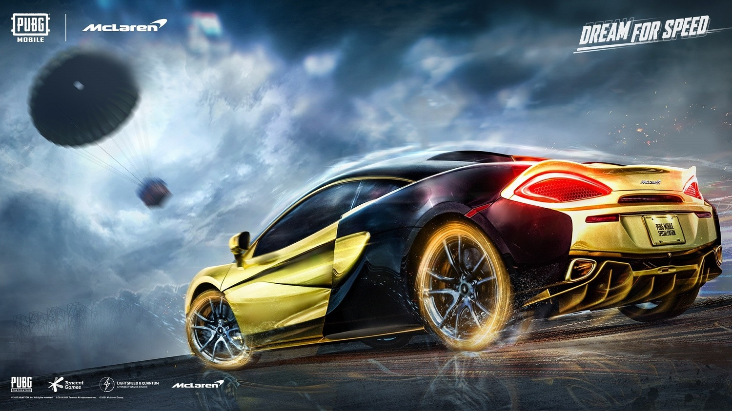 PUBG Mobile Is Dropping The Legendary Supercar McLaren 570S On The Game