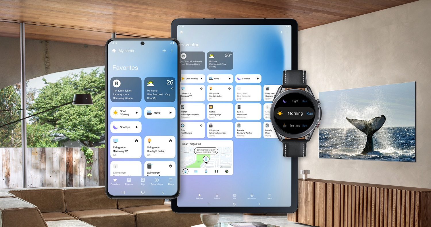 Samsung SmartThings Redesigned UI Offering Customers a More Dynamic Connected Home Experience