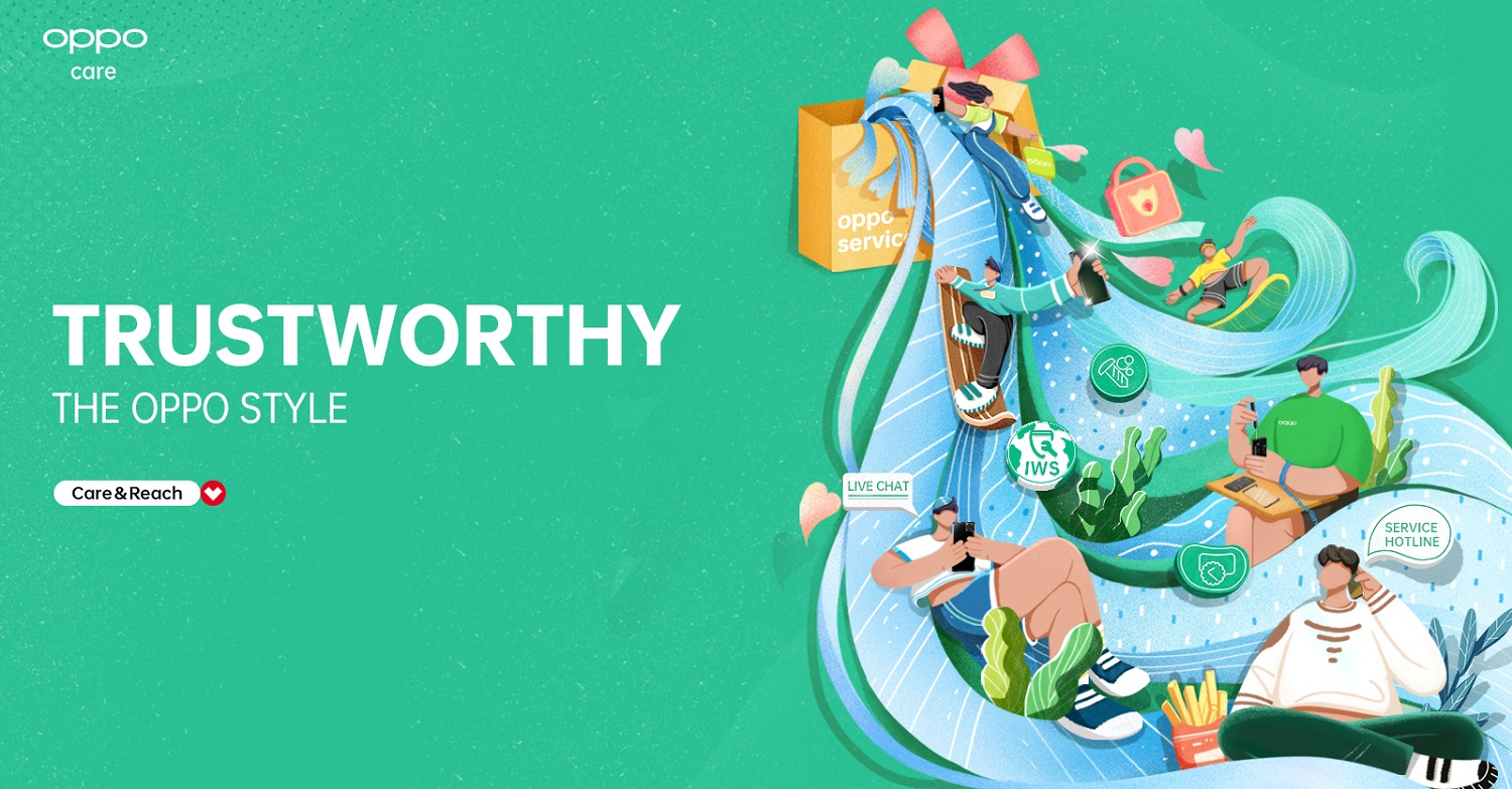 Less Worries, More Confidence - Trustworthy OPPO Service Center Is Here for You