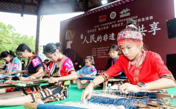 Hainan Free Trade Port Carried out Nearly A Hundred Activities to Promote Inheritance of Intangible Cultural Heritage