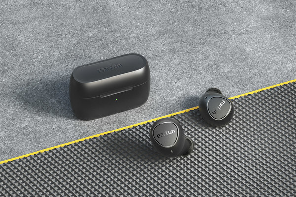 EarFun Free 2 - Advanced aptX True Wireless Earbuds Engineered for Great Calls and Sounds