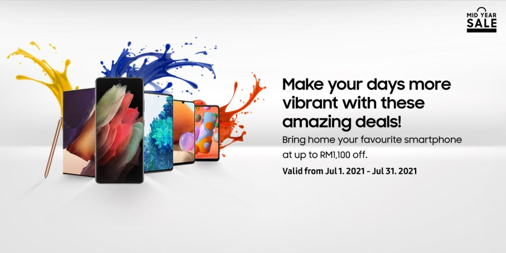 Samsung Malaysia is Bringing Back the Colour in Your Life