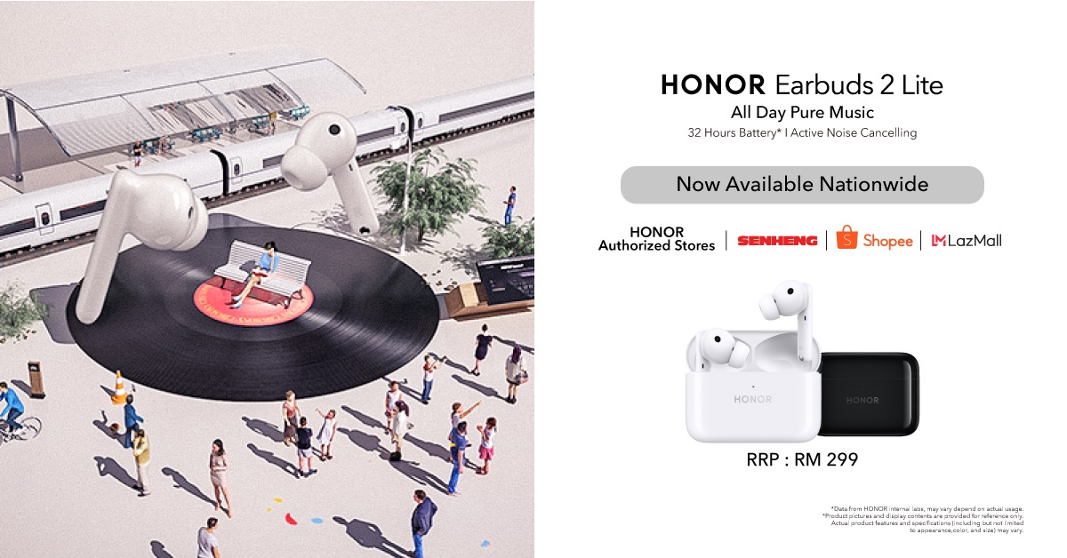 HONOR Earbuds 2 Lite: Here's 5 Reasons Why It's Essential For Work-From-Home