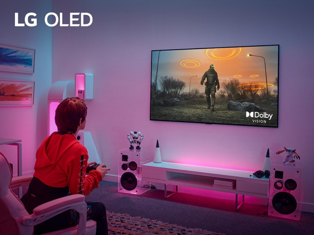 Gaming on LG Premium TVs Reach New Heights with Latest Dolby Vision Update