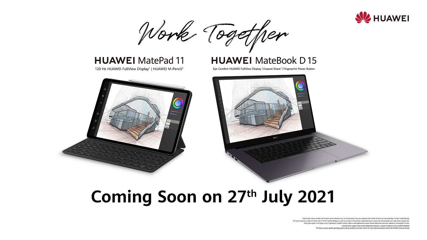 HUAWEI Launches New Productivity Companions with The MatePad 11 and MateBook Variants